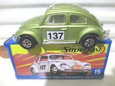 Matchbox 2004 Hershey Toy Show Dealer #15 Lime 1962 VW Volkswagen Car NB 300made
