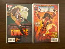 Lady Rawhide 1 with Variant High Grade Topps Lot Set Run CL50-75