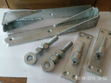 HOOK AND BAND HINGES HEAVY DUTY ADJUSTBLE GALVANISED 12""