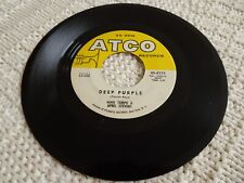 NINO TEMPO & APRIL STEVENS DEEP PURPLE/I'VE BEEN CARRYING A TORCH ATCO 6273