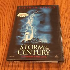 Storm of the Century (DVD, 1999, Complete Miniseries) Deliciously Creepy NOS