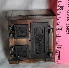 Vintage miniature Diecast Antique ICE BOX Pencil Sharpener Hong Kong in BOX