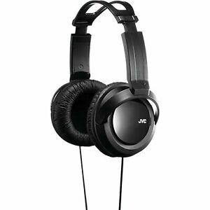 JVC HARX330BK Over ear headphones, wired, comfortable long listening, BRAND NEW!