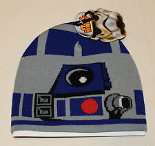 Star Wars Mens R2D2 Acrylic Beanie One Size New Genuine Licensed