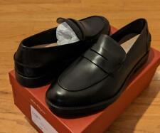 "$575 Mens Salvatore Ferragamo ""Ayden"" Leather Penny Loafers Black US 11 EE"
