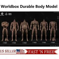 """1//6 WORLDBOX AT017 Muscular Durable Body Super Strong 12/"""" Male Figure U.S.A."""