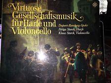 Virtouse Gesellschaftsmusiik fur Harfe und Violoncello  LP