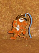 1988 Olympics Pinback Seoul Korea Hodori Mascot Tiger Track & Field Pin Olympic