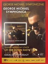 GEORGE MICHAEL - SYMPHONICA /  EMMANUELLE SEIGNER - Polish promo FLYER