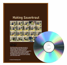 Step by step How to make sauerkraut, equipment, preparations, storage method DVD