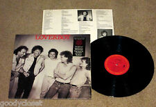 ROCK LOVERBOY LOVIN' EVERY MINUTE OF IT LP BERNIE GRUNDMAN MASTER EXCELLENT **