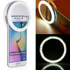 Selfie Portable LED Ring Fill Light Camera Photography for Cell Phone iPhone 6S