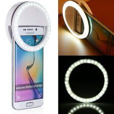 Selfie Portable LED Ring Fill Light Camera Photography for Cell Phone iPhone 6 7