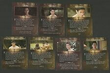 Kristen Stewart Werewolf Twilight Saga Fab Card LOT A Alex Meraz Chaske Spencer