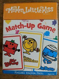 Mr. Men Little Miss Match-Up Game, 2009 (Cards)