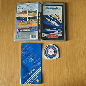 WIPEOUT PURE PLAYSTATION PORTABLE PSP PAL GAME COMPLETE WITH MANUAL FREE P&P