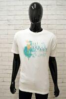 Maglia CAMEL ACTIVE Uomo Taglia Size XL Maglietta Shirt Man Manica Corta Bianco