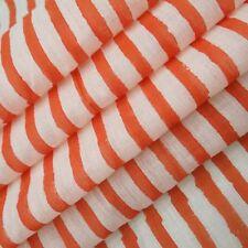 Indian Handmade sanganeri Natural Dye Printed 100%  Cotton Dressmaking Fabric