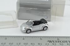 **Clearance Wiking Volkswagen New Beetle Convertible Silver Car 1:87 HO (HO2491)