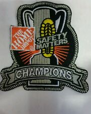 Home Depot Safety Matters Patch