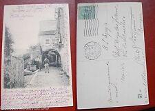 CARTOLINA VIAGGIATA 1900 - LIGURIA - IMPERIA - SAN REMO / PORTA CANDELLER