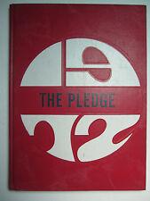 1972 THE PLEDGE Yearbook - Shadyside Hospital School of Nursing - Pittsburgh Pa
