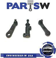 3 Pc Steering Pitman Idler Arm for Chevy Silverado GMC Sierra Suburban H2 Yukon