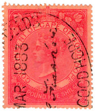 (I.B) Cape of Good Hope Revenue : Stamp Duty £1 5/- (1878)