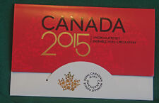 2015 Canada Brilliant Uncirculated set - IN STOCK - all the traditional designs