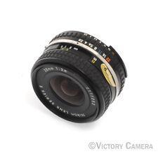Nikon 28mm f2.8 Series-E AI Manual Focus Wide Angle Lens -Clean- (9129-20)