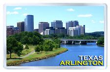 ARLINGTON TEXAS USA FRIDGE MAGNET SOUVENIR IMAN NEVERA