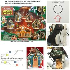 MR CHRISTMAS MICKEY'S CLOCK SHOP- REPLACEMENT PART-BELT