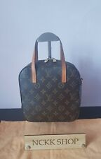 Louis Vuitton Spontini Monogram Canvas Hand Bag.