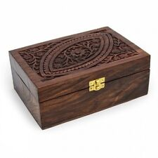 PROFESSIONAL SHEESHAM  WOODEN  BOX FOR 24 ESSENTIAL OILS