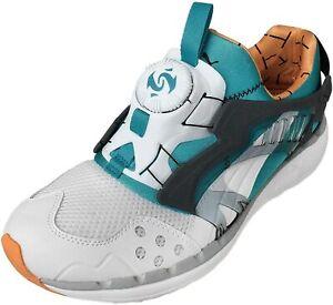 Mens Puma Disc Blaze Lite 1993 theLIST Sneakers Tennis Shoes Blue White 10.5 11