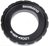 Shimano XT HB-M8010 Outer Serration Centerlock Disc Rotor Lockring & Washer