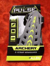 "Pulse Archery 6.5"" Adjustable Armguard / Arm Guard ~ Gray ~ Free Shipping B4"
