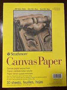 Strathmore Canvas Paper 2 Tablets 20 sheets