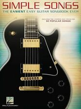 Simple Songs Easiest Easy Guitar Songbook Ever Learn to Play Rock Pop Music Book