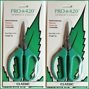 Bud Trimming Scissors by PRO 420 2 pack PRUNING TRIMMING HARVEST