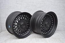 "17""dare rs black Alloy Wheels Vw/Vauxhall/Toyota/Suzuki/Honda/Kia/Ford/bmw e30"