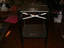 E-Z Up Itsy22Bk Instant Table System 2 Ft. x 2 Ft. Plus Leaf Shelf Kit Nice