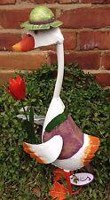 Jemima Duck Metal Garden Ornament Vivid Arts £22.99