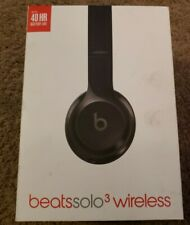 Beats by Dr. Dre Solo3 Wireless On the Ear Headphones Gloss Black with box