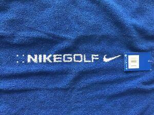 New Nike Golf Towel Royal Blue
