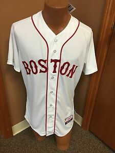 MLB Majestic Boston Red Sox Authentic Cool Base Jersey Size 40,48,52