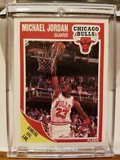 1989-90 FLEER BASKETBALL #21 MICHAEL JORDAN CHICAGO BULLS HOF REAL NICE!