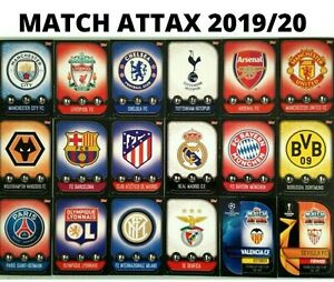 MATCH ATTAX 2019/20 19/20 TOPPS BASE CARDS BUY 2 GET 1 FREE!