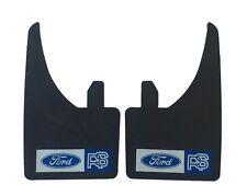 2 ajuste universal mudflaps Delantero Trasero Ford RS Focus Escort Sierra Mud Flap Guardia