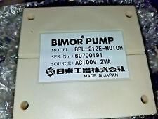 Bimor Piezoelectric Pump BPL-212E-MUTOH ...NEW